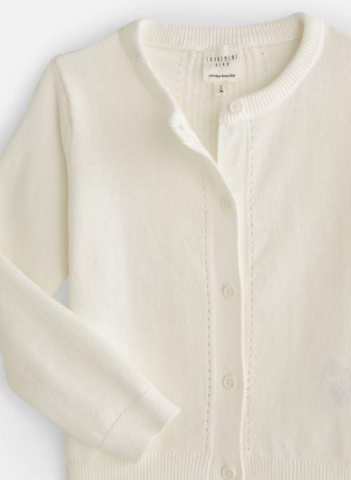 Vêtements CARREMENT BEAU Y15258 Blanc vue portées chaussures