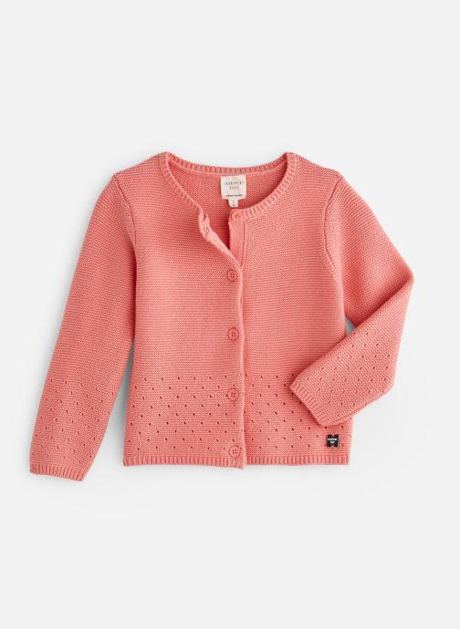 Vêtements CARREMENT BEAU Y15262 Rose vue détail/paire