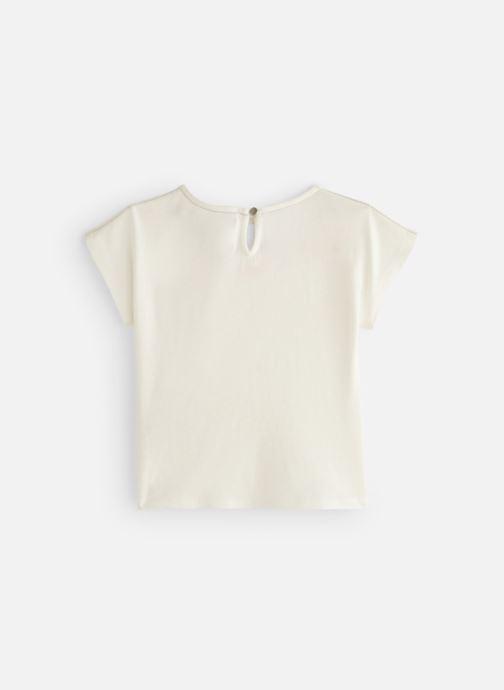 Vêtements CARREMENT BEAU Y15270 Blanc vue bas / vue portée sac