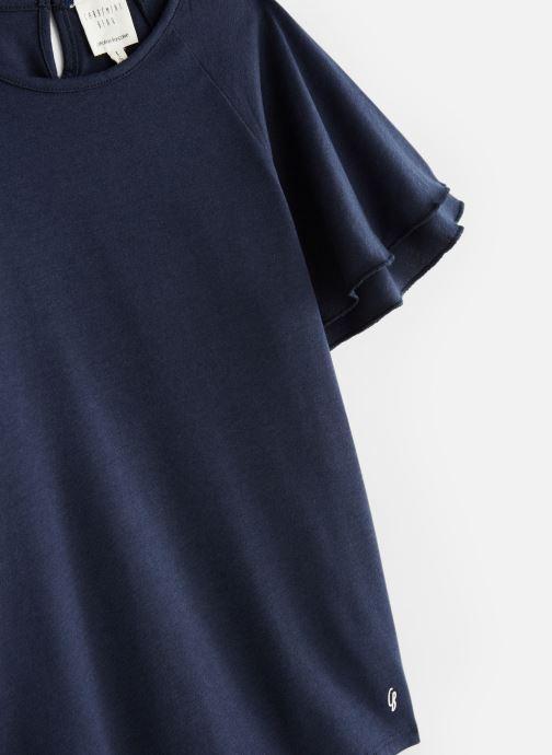 Vêtements CARREMENT BEAU Y15281 Bleu vue portées chaussures