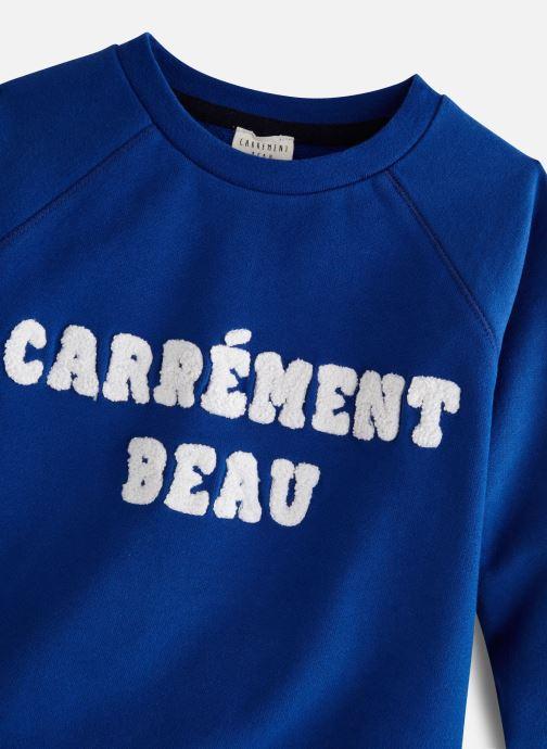 Vêtements CARREMENT BEAU Y25264 Bleu vue portées chaussures