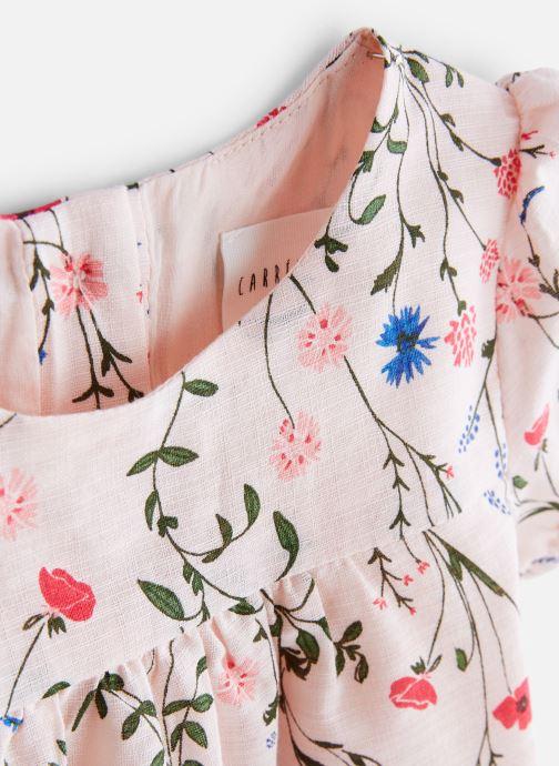 Vêtements CARREMENT BEAU Y92062 Rose vue portées chaussures
