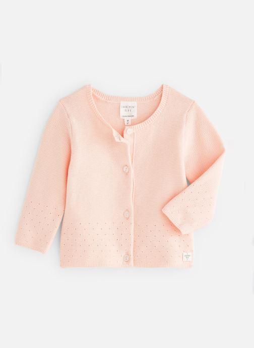 Vêtements CARREMENT BEAU Y95158 Rose vue détail/paire