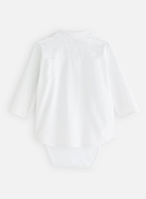 Vêtements CARREMENT BEAU Y97077 Blanc vue bas / vue portée sac