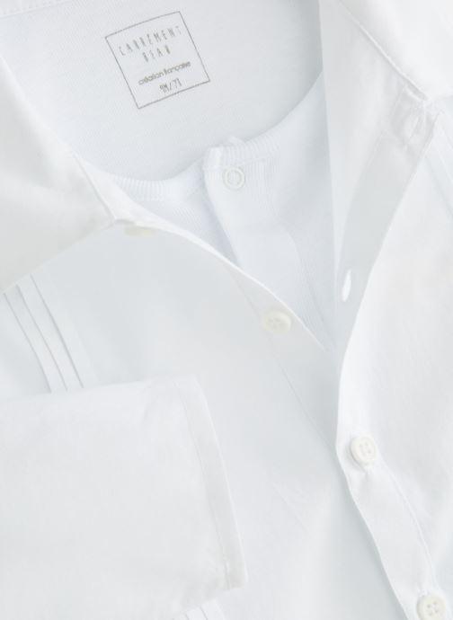 Vêtements CARREMENT BEAU Y97077 Blanc vue portées chaussures
