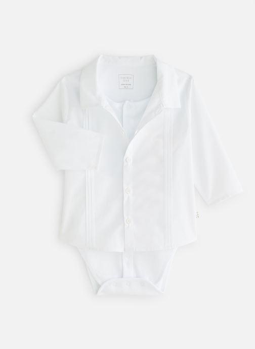 Vêtements CARREMENT BEAU Y97077 Blanc vue détail/paire