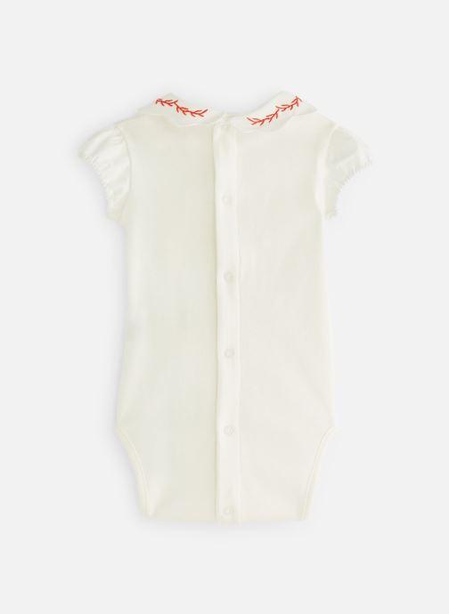 Vêtements CARREMENT BEAU Y97079 Blanc vue bas / vue portée sac