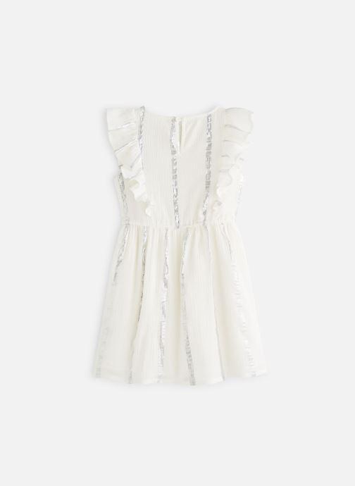 Vêtements CARREMENT BEAU Y12167 Blanc vue bas / vue portée sac