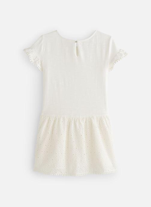 Vêtements CARREMENT BEAU Y12156 Blanc vue bas / vue portée sac