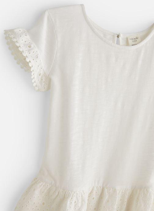 Vêtements CARREMENT BEAU Y12156 Blanc vue portées chaussures