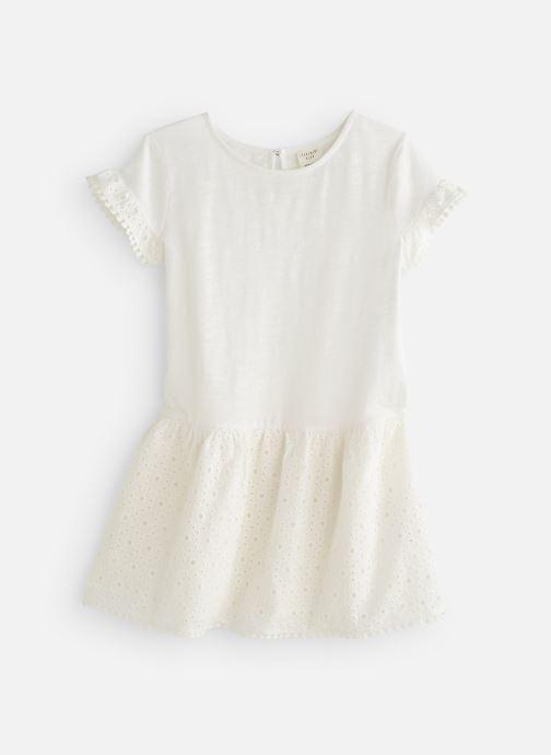 Vêtements CARREMENT BEAU Y12156 Blanc vue détail/paire