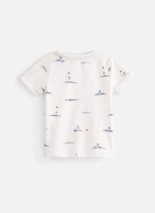 Vêtements CARREMENT BEAU Y25251 Blanc vue bas / vue portée sac