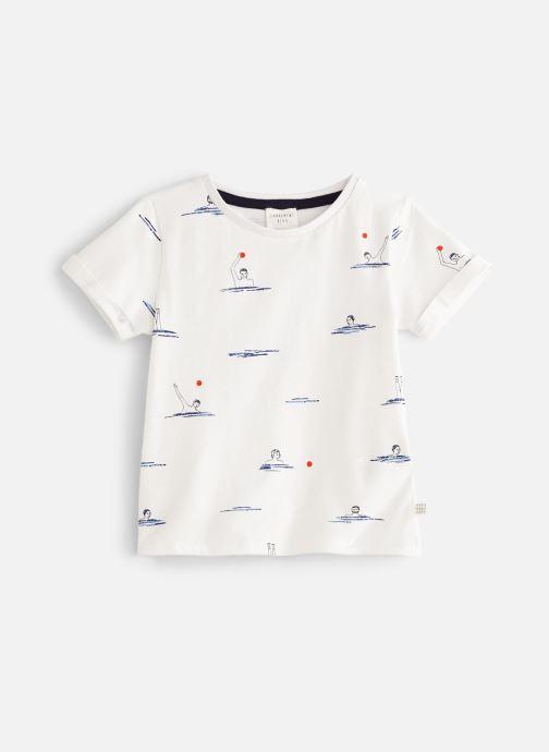 Vêtements CARREMENT BEAU Y25251 Blanc vue détail/paire