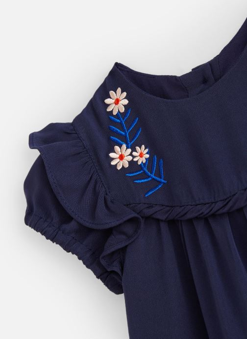 Vêtements CARREMENT BEAU Y92070 Bleu vue portées chaussures