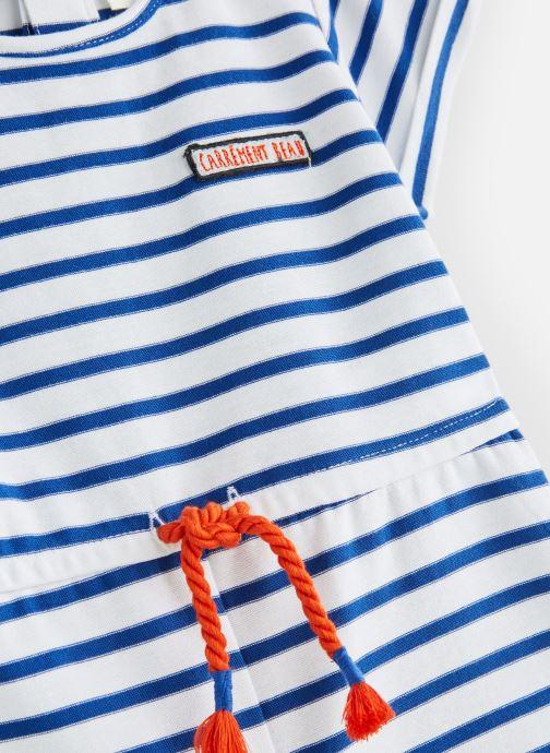 Vêtements CARREMENT BEAU Y94111 Bleu vue portées chaussures