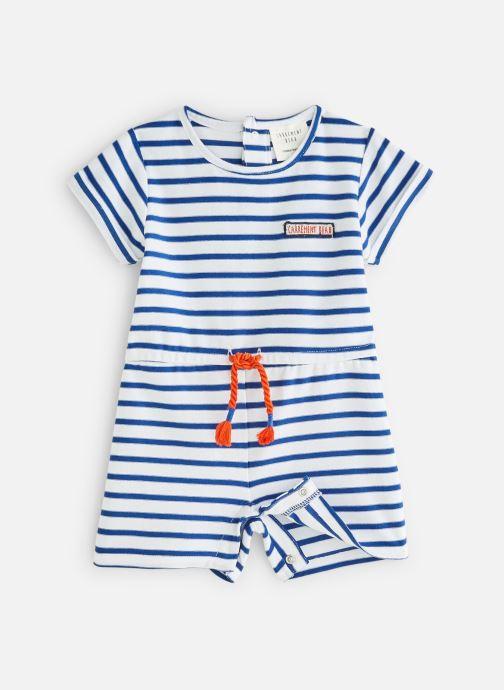 Vêtements CARREMENT BEAU Y94111 Bleu vue détail/paire