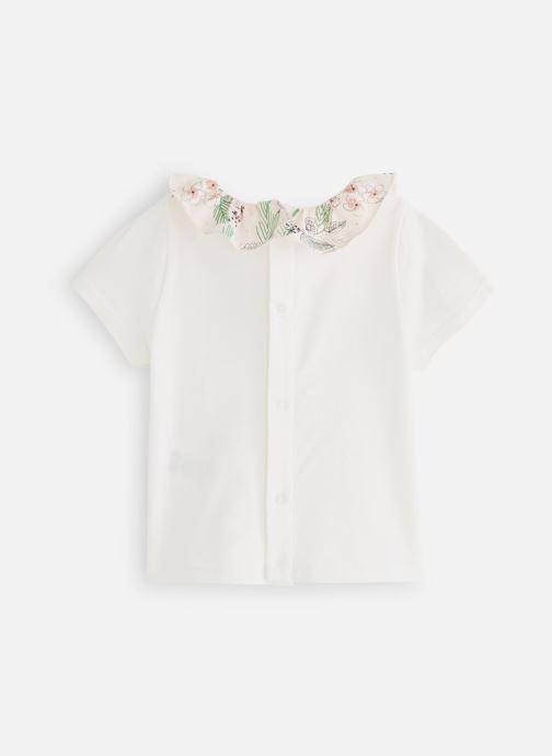 Vêtements CARREMENT BEAU Y95164 Blanc vue bas / vue portée sac
