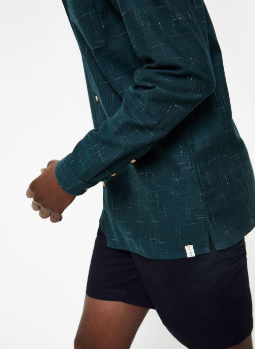 Vêtements Hymn London  Chemise SHARK Vert vue face