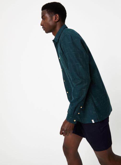 Vêtements Hymn London  Chemise SHARK Vert vue droite