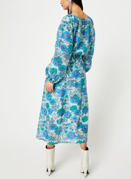 Vêtements Essentiel Antwerp SKILLED Bleu vue portées chaussures