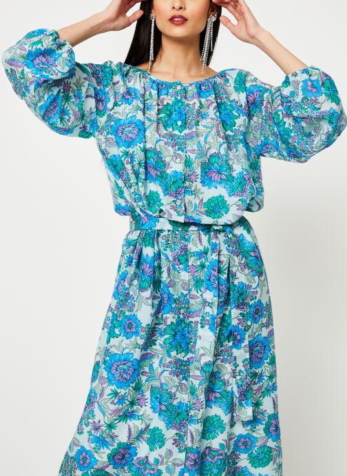 Vêtements Essentiel Antwerp SKILLED Bleu vue droite
