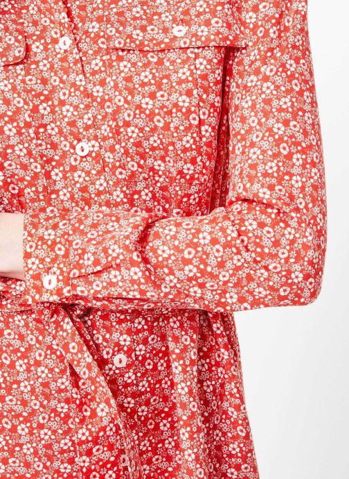Vêtements Cuisse de Grenouille DRESS - OVERSIZE SHIRT DRESS Rouge vue face