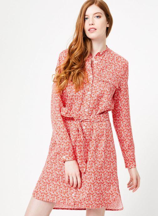 Vêtements Cuisse de Grenouille DRESS - OVERSIZE SHIRT DRESS Rouge vue droite