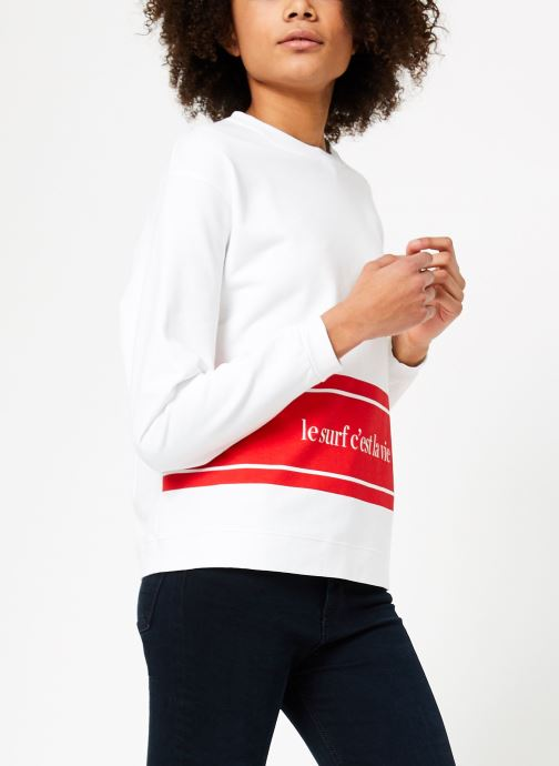 Vêtements Cuisse de Grenouille SWEAT - LE SURF C'EST LA VIE PRINT Multicolore vue droite