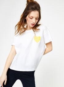 TEE SHIRT - HEART EMBROIDERY