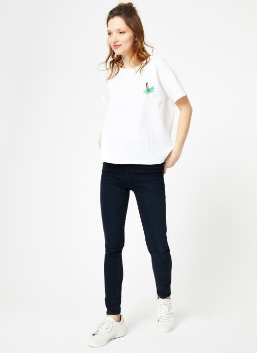 Vêtements Tee De Grenouille Chez 369710 Cuisse Vahine Shirt blanc wzY1pypAqx