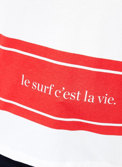 Vêtements Cuisse de Grenouille TEE SHIRT - PRINT SURF C'EST LA VIE Multicolore vue face