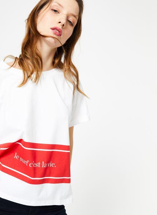 Vêtements Cuisse de Grenouille TEE SHIRT - PRINT SURF C'EST LA VIE Multicolore vue détail/paire
