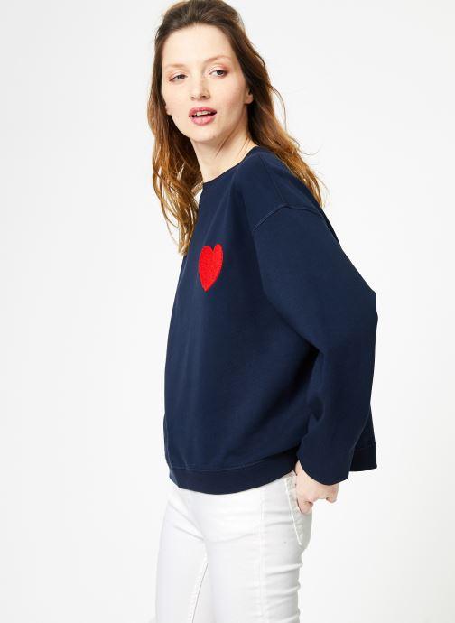 SweatHeart VêtementsSweats Cuisse Navy Grenouille Embroidery Dark De Ajq3L5Rc4