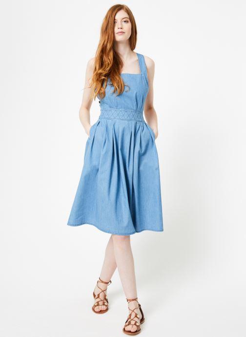Vêtements Cuisse de Grenouille DRESS - APRON DRESS Bleu vue bas / vue portée sac