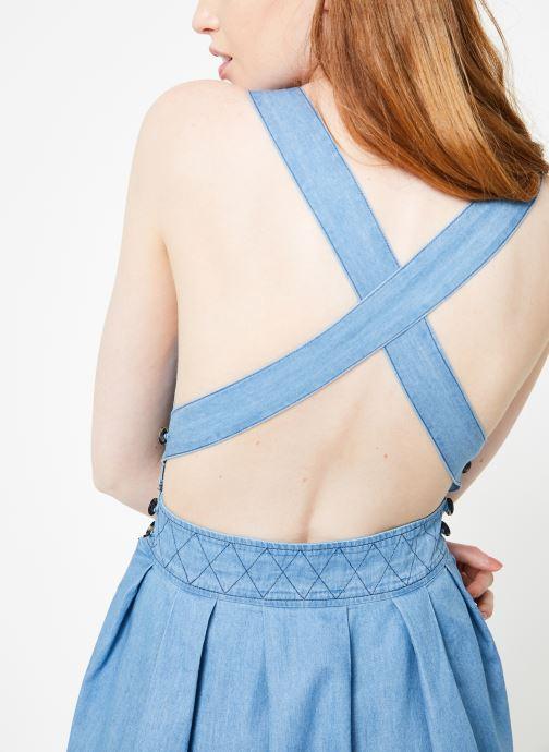 Vêtements Cuisse de Grenouille DRESS - APRON DRESS Bleu vue face