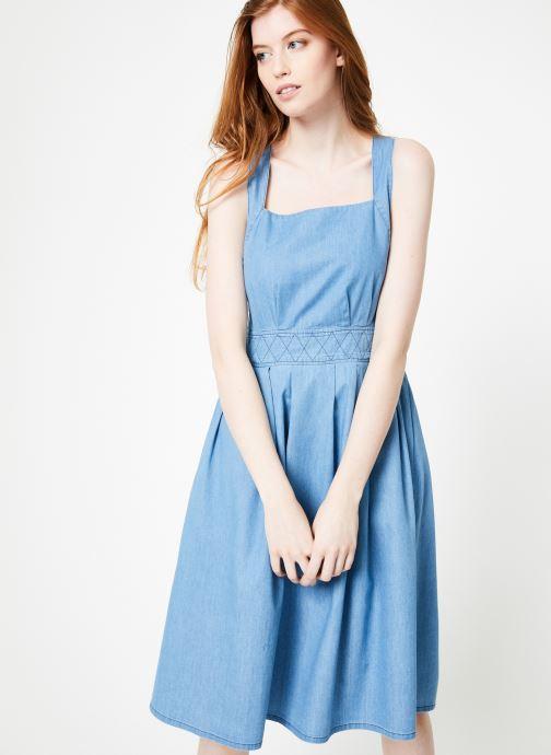 Vêtements Cuisse de Grenouille DRESS - APRON DRESS Bleu vue droite