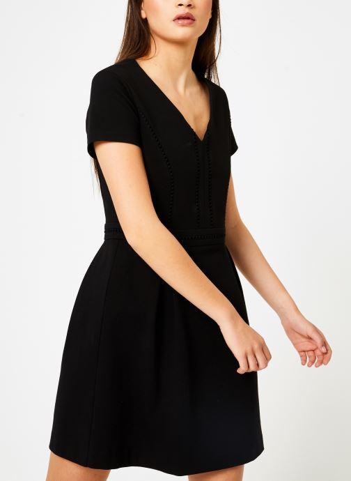 Vêtements IKKS Women W ROB MC GALON Noir vue droite
