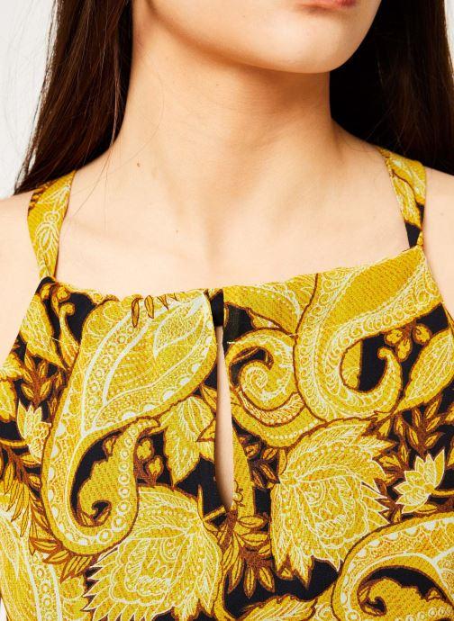 Vêtements IKKS Women ROB SM PAISLEY Jaune vue face