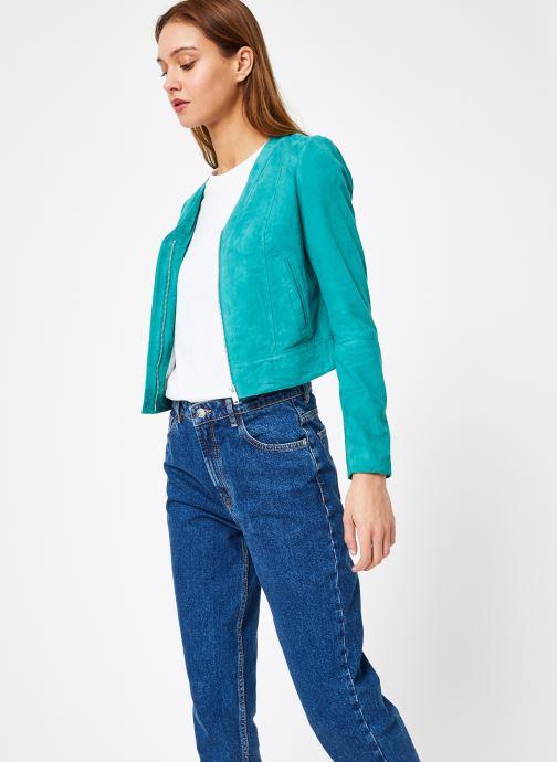 Vêtements IKKS Women W BLO CUIR Vert vue droite