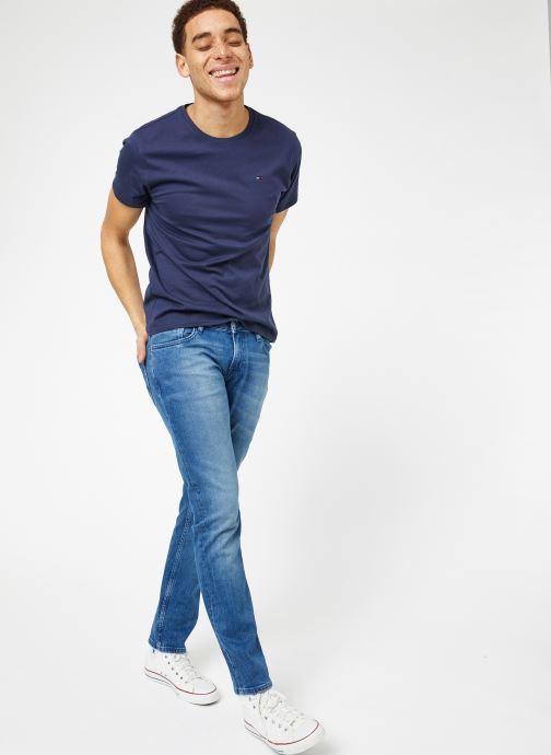 Tøj Tommy Jeans SLIM SCANTON BEMB Blå se forneden