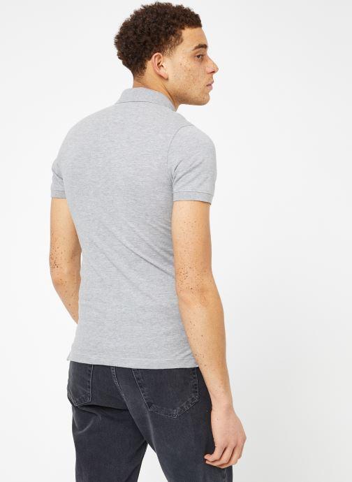 Kleding Tommy Jeans TJM ORIGINAL FINE PIQUE POLO Grijs model