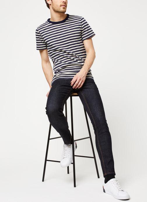Vêtements Tommy Jeans SLIM SCANTON RINSC Bleu vue bas / vue portée sac