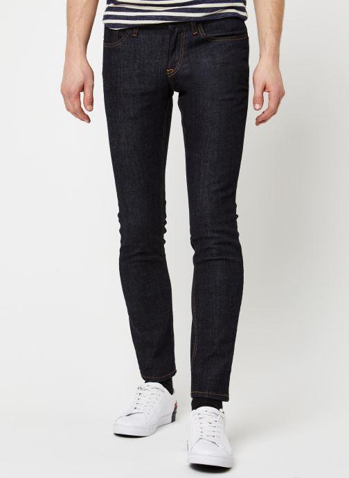 Vêtements Tommy Jeans SLIM SCANTON RINSC Bleu vue détail/paire