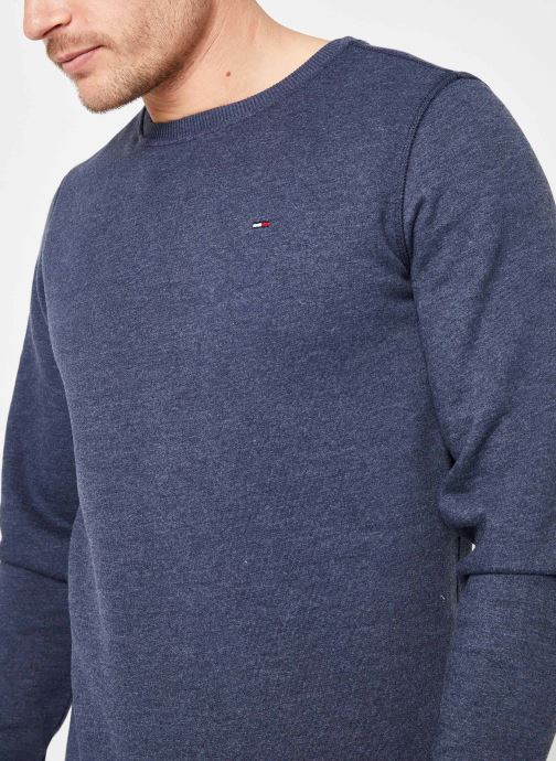 Vêtements Tommy Jeans TJM ORIGINAL SWEATSHIRT Bleu vue face