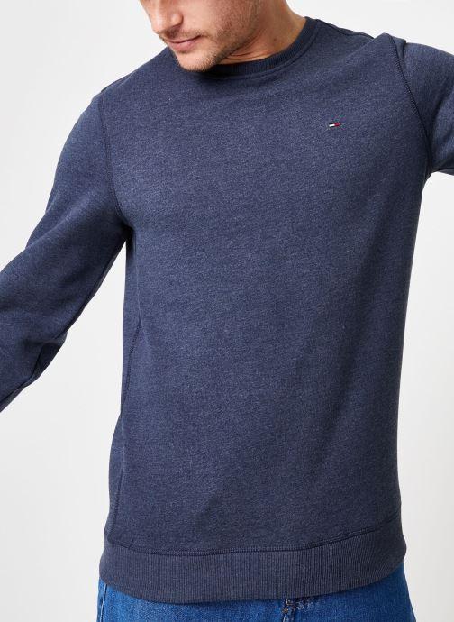 Vêtements Tommy Jeans TJM ORIGINAL SWEATSHIRT Bleu vue détail/paire