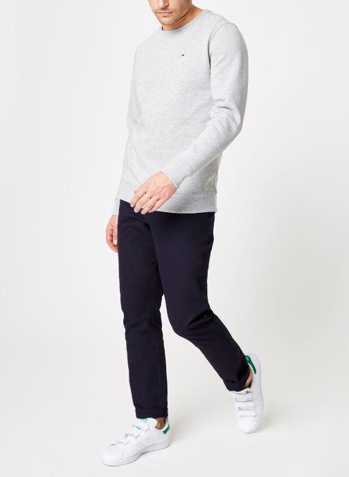 Tøj Tommy Jeans TJM ORIGINAL SWEATSHIRT Hvid se forneden