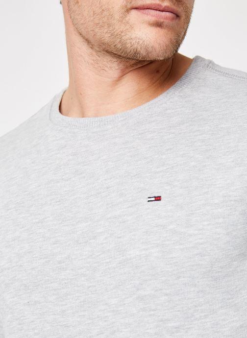 Tøj Tommy Jeans TJM ORIGINAL SWEATSHIRT Hvid se forfra