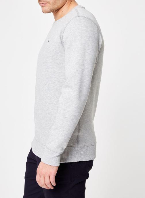 Tøj Tommy Jeans TJM ORIGINAL SWEATSHIRT Hvid Se fra højre