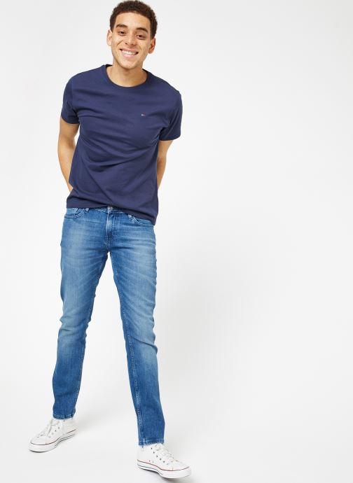 Tee Jeans Tommy 369771 Jersey bleu Tjm Original Chez Vêtements SRFTq