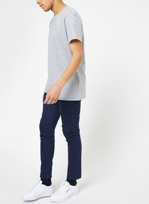 Tøj Tommy Jeans TJM ORIGINAL JERSEY TEE Grå se forneden